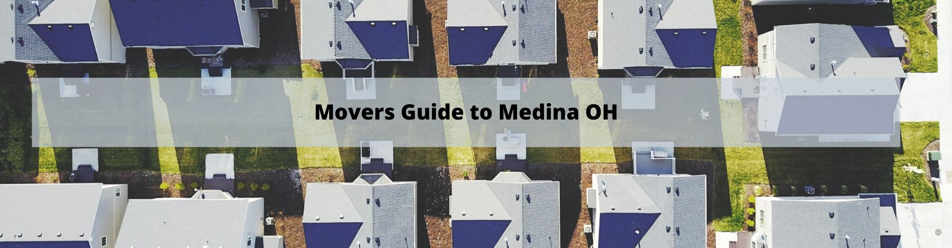 Mover's Guide to Medina OH