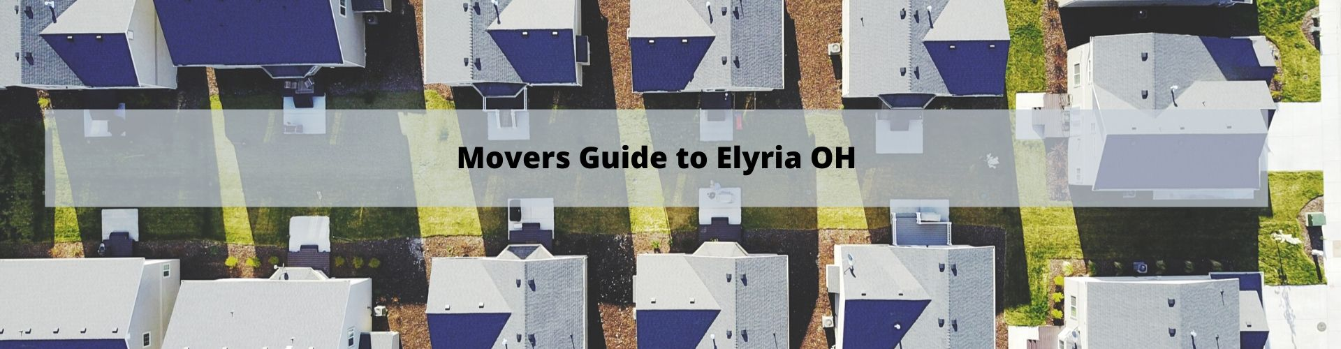 Mover's Guide to Elyria OH