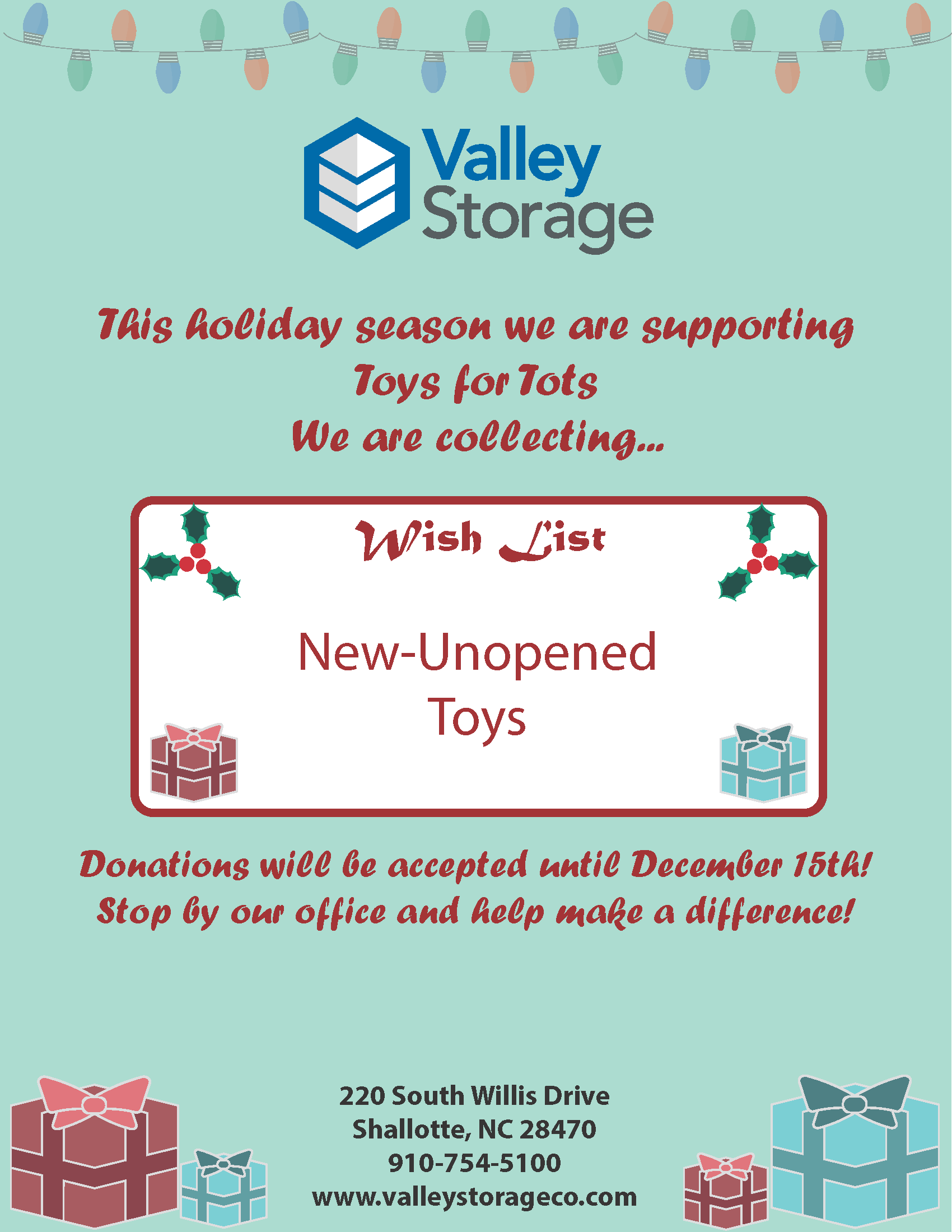 Shallotte NC South Willis Drive Holiday Collection