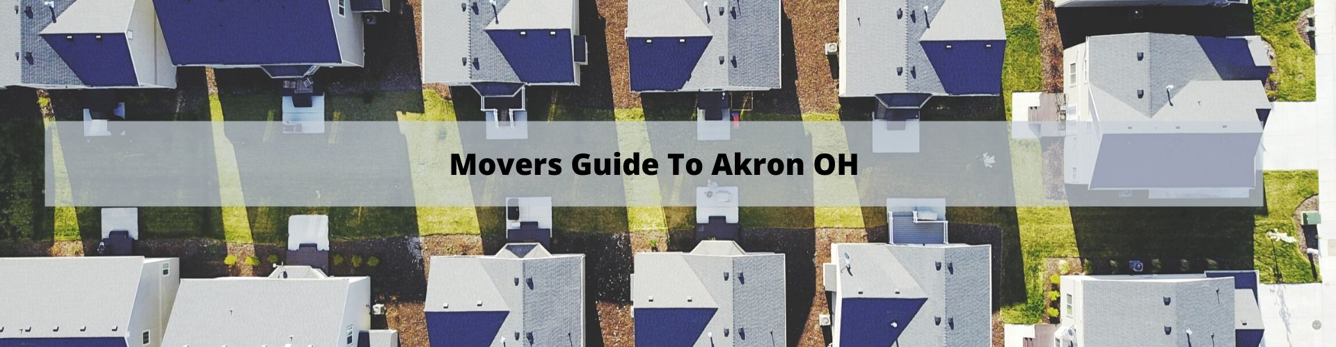Mover's Guide to Akron OH