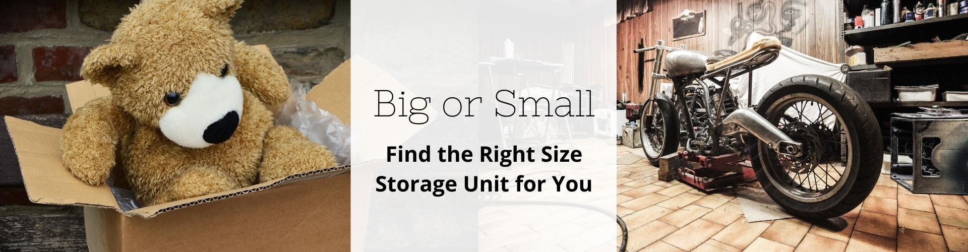 Large Storage Units Size Guide