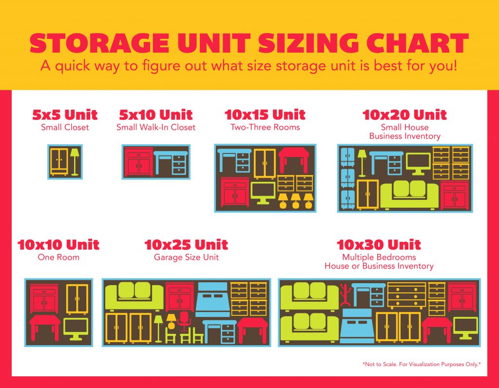 Size Guide: Large Storage Units